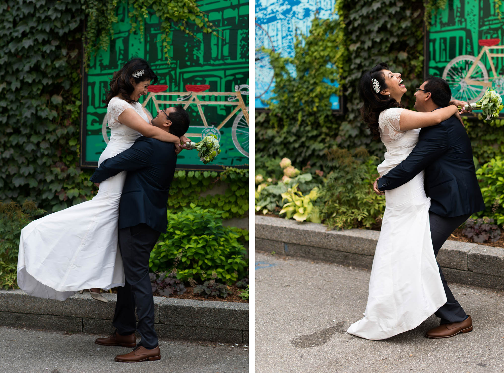Fun Romantic Wedding Photography