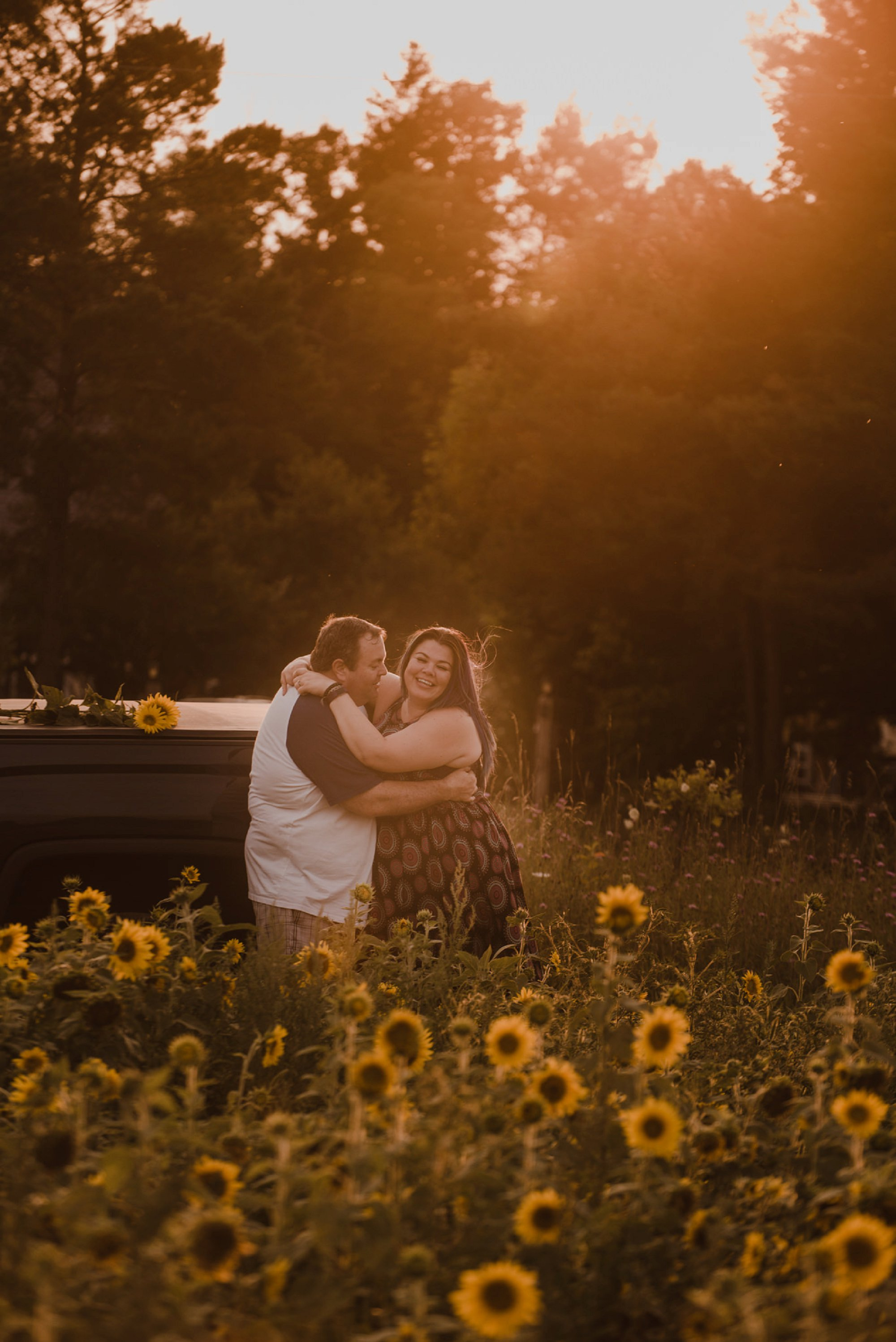 sunflower fields HANOVER ENGAGEMENT PHOTOS_0013