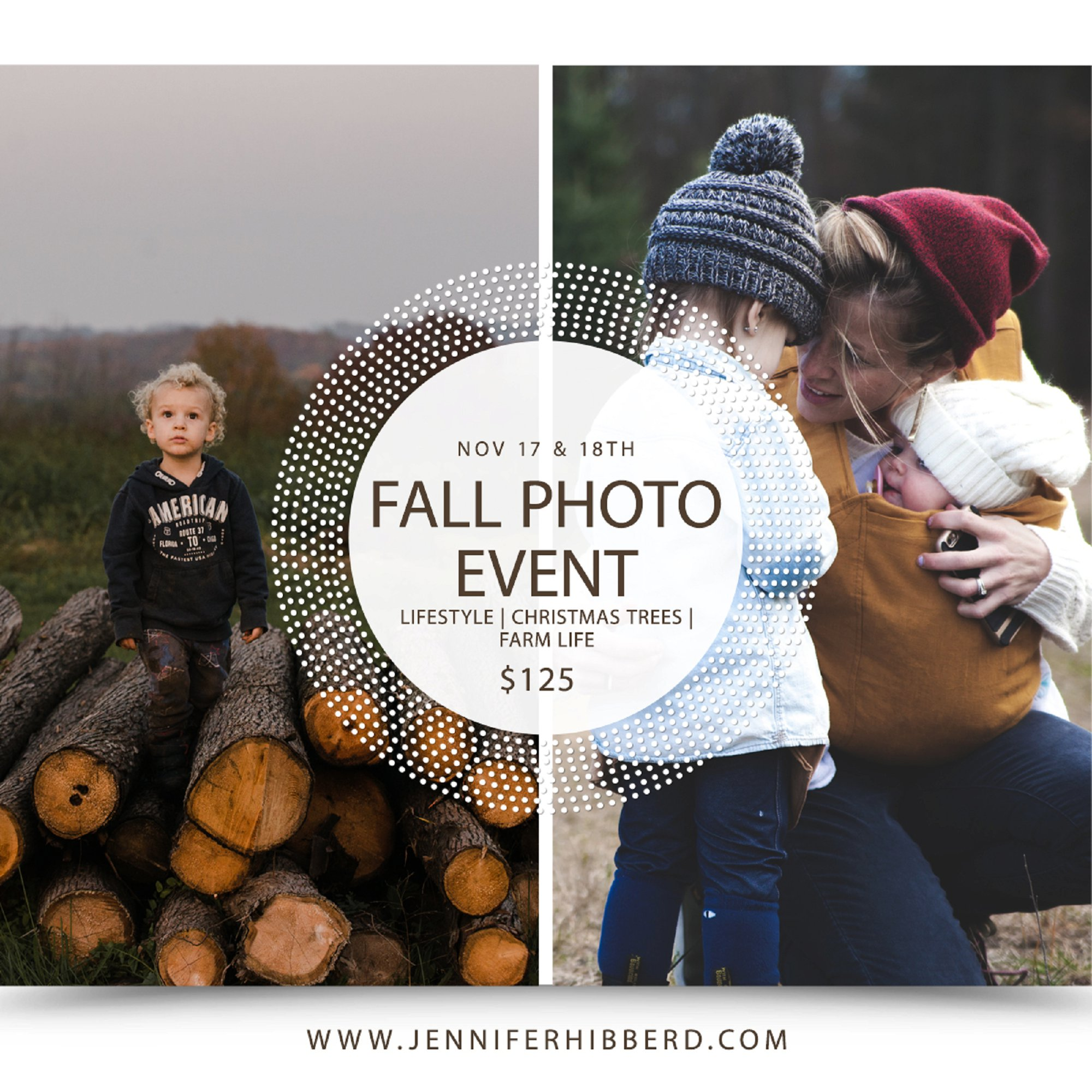 """""""Late"""" Fall Family Photos – Better Late Than Never Announcement"""