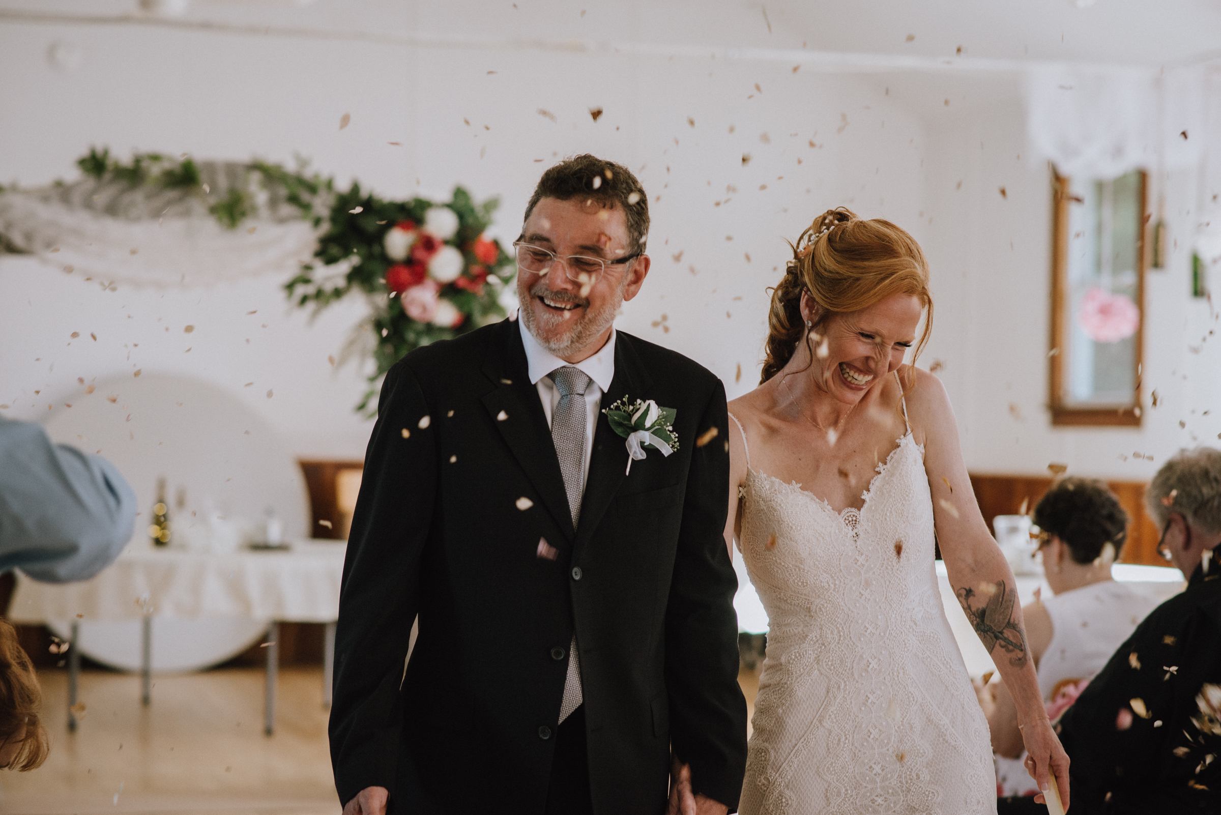 Intimate Wedding In Horning's Mills – Melissa & Kurt