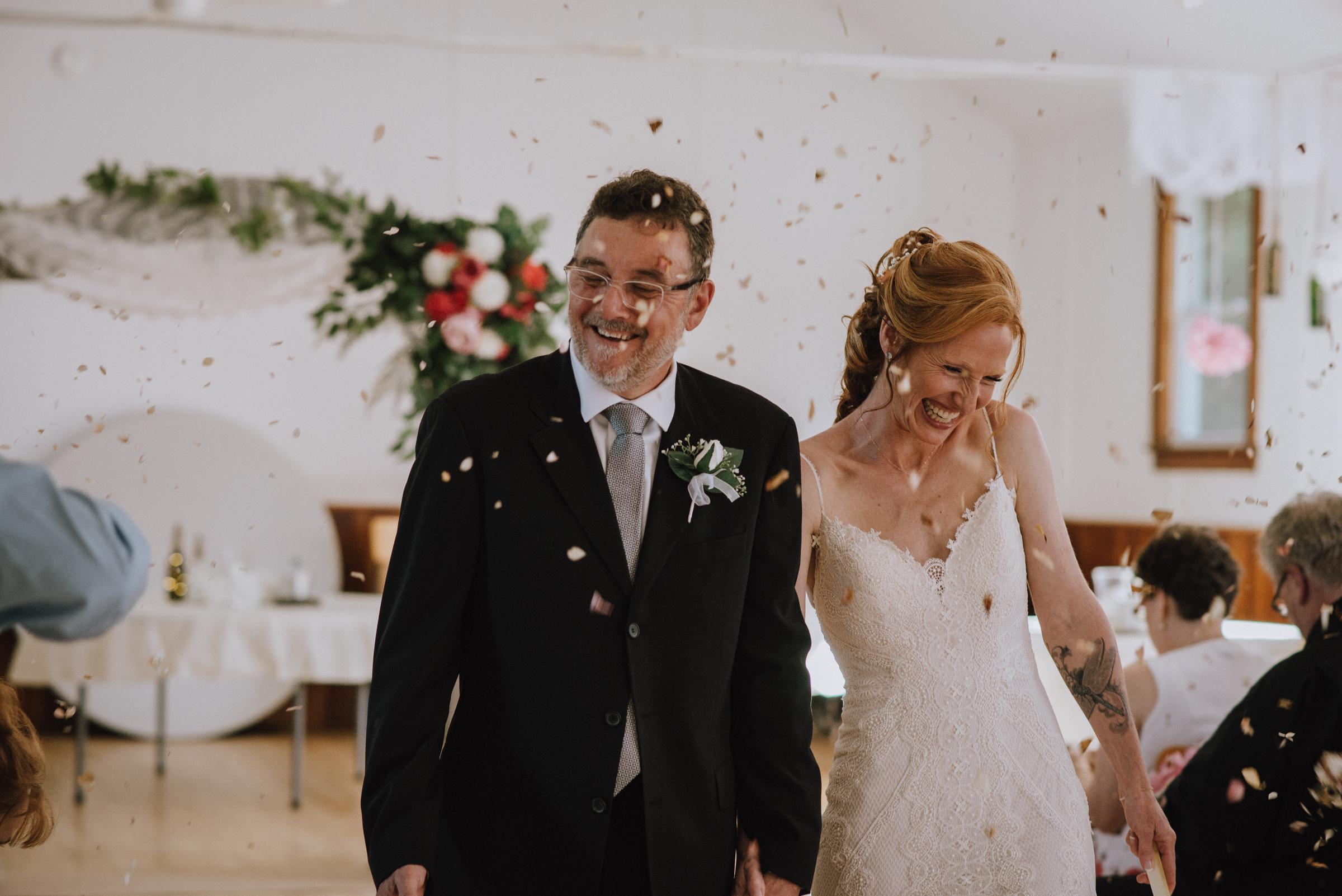 Intimate Wedding In Horning's Mills – Melissa & Kurt
