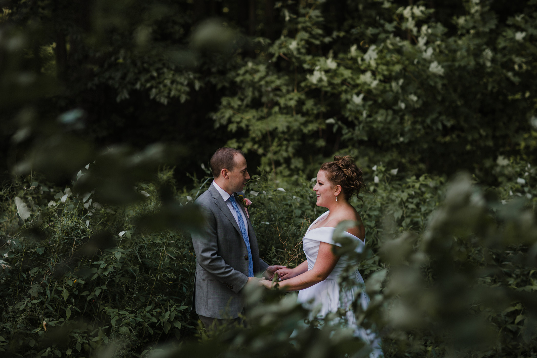 more forest wedding photos