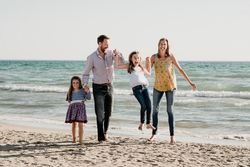Sauble Beach Family Photographer