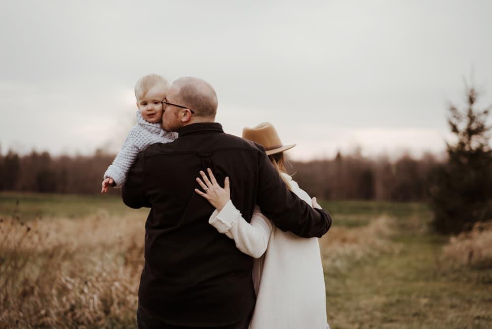 Candid Family Photos hanover Ontario